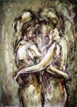 Obras de arte: Europa : España : Catalunya_Tarragona : Banyeres_Penedes : El abrazo