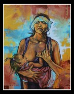 Obras de arte: America : El_Salvador : San_Salvador : San_Salvador_capital : DE HIJOS SUYOS PODERNOS LLAMAR
