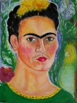 Obras de arte: Europa : Francia : Ile-de-France : PARIS : Retrato de Frida Kahlo, icono zapoteco