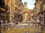 Obras de arte: Europa : España : Euskadi_Bizkaia : Bilbao : Paseo por Salamanca