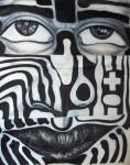Obras de arte: America : México : Chiapas : Tapachula : migrante
