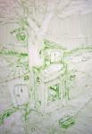 Obras de arte: America : Argentina : Cordoba : cordoba_capital : El Arbol y La Casa
