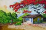 Obras de arte: America : Brasil : Sao_Paulo : Sao_Paulo_ciudad : o despertar do flamboyant
