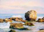 Obras de arte: Asia : Israel : Southern-Israel : Ashkelon : Stones in the sea