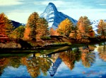 Obras de arte: Europa : España : Catalunya_Girona : Figueres : Otoño en el Lago