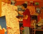 Obras de arte: Europa : España : Madrid : mostoles : AUTORRETRATO
