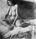 Obras de arte: Europa : España : Islas_Baleares : palma_de_mallorca : Sin título (ref: desnudo gordita)