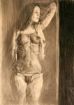 Obras de arte: Europa : España : Islas_Baleares : palma_de_mallorca : Sin título (ref: mujer mirando dr. lencería)