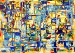 Obras de arte: Europa : Portugal : Coimbra : Coimbra-cidade : COSMOS COMPOSIÇÃO VIII