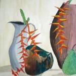 Obras de arte: Asia : Bahrein : Juzur_Hawar : juffair : A la  sombra de la  es-pera