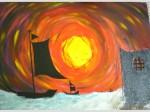 Obras de arte: Asia : Bahrein : Juzur_Hawar : juffair : mirada infinita