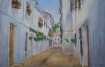Obras de arte: Europa : España : Andalucía_Granada : churriana : Casas blancas