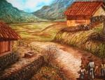 Obras de arte: America : México : Jalisco : Guadalajara : Camino al campo.
