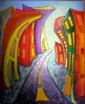 Obras de arte: America : Chile : Los_Lagos : Puerto_Varas : PAISAJE URBANO