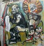 Obras de arte: America : Argentina : Buenos_Aires : La_Plata : Planta baja ascensor