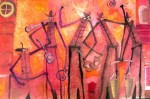 Obras de arte: America : México : Mexico_Distrito-Federal : Coyoacan : MUSICA DE BRUJOS