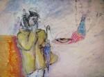 Obras de arte: Europa : España : Galicia_La_Coruña : coruña-ciudad : Hoy llueve