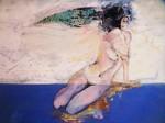 Obras de arte: Europa : España : Galicia_La_Coruña : coruña-ciudad : Ella es. Ella da.Y si quiere también la quita.