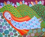 Obras de arte: America : Chile : Region_Metropolitana-Santiago : providencia : Mujer en sueños