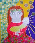 Obras de arte: America : Chile : Region_Metropolitana-Santiago : providencia : Mi niño-niña