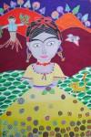 Obras de arte: America : Chile : Region_Metropolitana-Santiago : providencia : Frida en la montaña