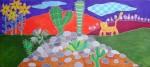 Obras de arte: America : Chile : Region_Metropolitana-Santiago : providencia : Cerrito de cactus