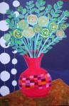 Obras de arte: America : Chile : Region_Metropolitana-Santiago : providencia : Flores amarillas