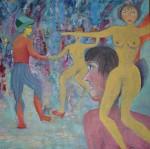 Obras de arte: America : Argentina : Buenos_Aires : Martinez : Danza de Colores