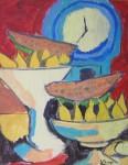 Obras de arte: Europa : España : Euskadi_Bizkaia : Dima : bodegón cubista