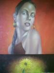 Obras de arte: America : México : Puebla : puebla_ciudad : mujer