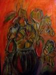 Obras de arte: America : Chile : Antofagasta : antofa : Florero de tristezas