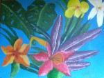 Obras de arte: Asia : Bahrein : Juzur_Hawar : juffair : flores  de  amiga