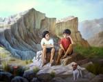 Obras de arte: America : Argentina : Salta : Salta_ciudad : En las Altas Cumbres