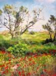 Obras de arte: Asia : Israel : Southern-Israel : Ashkelon :  Poppies