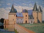 Obras de arte: Europa : España : Andalucía_Jaén : Jaen_ciudad : Castillo. Sully-Sur-Loire (FR)