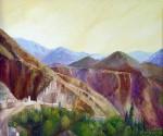 Obras de arte: America : Argentina : Salta : Salta_ciudad : Serranías de Iruya