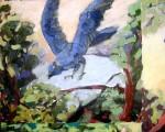 Obras de arte: America : Perú : Lima : Surco : viñeta 1 (detalle de la pintura
