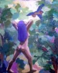 Obras de arte: America : Perú : Lima : Surco : viñeta 11 (detalle de la pintura
