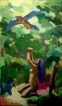 Obras de arte: America : Perú : Lima : Surco : viñeta 13 (detalle de la pintura