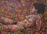 Obras de arte: Europa : España : Andalucía_Jaén : Segura_de_la_Sierra : Mujer Camaleónica