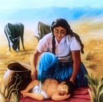 Obras de arte: America : Argentina : Salta : Salta_ciudad : Amor de madre