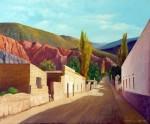 Obras de arte: America : Argentina : Salta : Salta_ciudad : Calle de Purmamarca