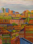 Obras de arte: America : Chile : Region_Metropolitana-Santiago : la_florida : subiendo el cerro  en Valparaiso
