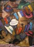 Obras de arte: Europa : España : Andalucía_Jaén : Segura_de_la_Sierra : Mujeres de Escaparate