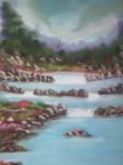Obras de arte: America : México : Mexico_region : Chalco : PAISAJE TRANQUILO