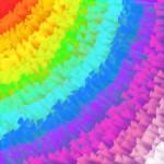 Obras de arte: America : México : Nayarit : TEPIC : arcoiris