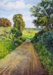 Obras de arte: Asia : Israel : Southern-Israel : Ashkelon : The road into the field ...