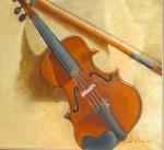 Obras de arte: Europa : España : Catalunya_Barcelona : Mataró : El violín