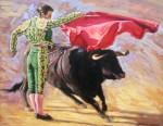 Obras de arte: Europa : Espa�a : Andaluc�a_Ja�n : Segura_de_la_Sierra : Toreando