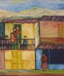 Obras de arte: America : Chile : Region_Metropolitana-Santiago : la_florida : Casa del fiscal Ecuador